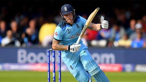 Ben Stokes in the ICC World Cup